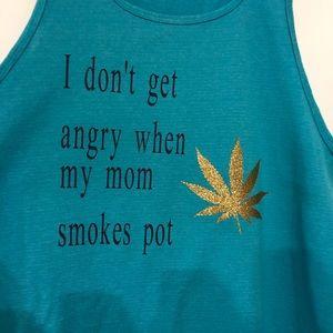 Sublime T-shirt Shirt Top Pot Leaf Marijuana 90's